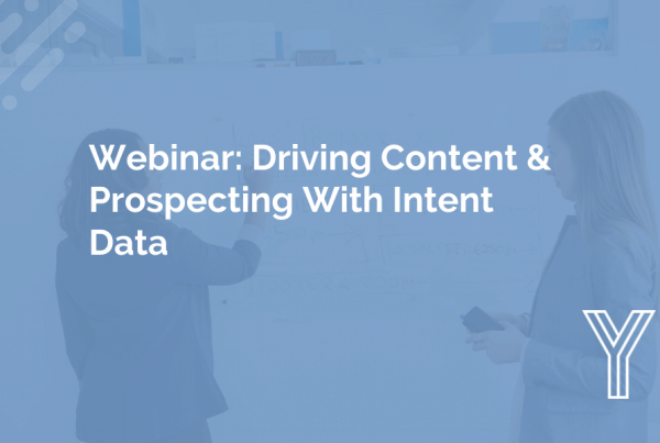 Driving Prospecting Content With Intent Data 12
